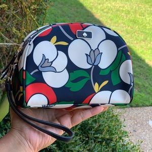 Kate Spade Dawn Breezy Floral Dome Cosmetic Bag